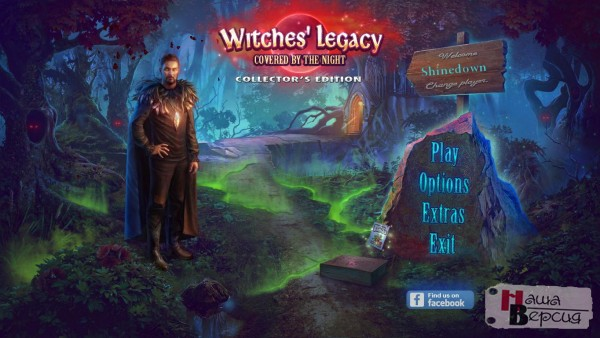 Witches Legacy 10: Covered By The Night Collector's Edition
